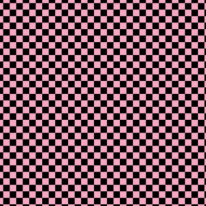 Checkered #13 Patterned Vinyl