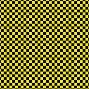 Checkered #19 Patterned Vinyl