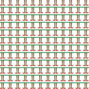 Christmas #18 Patterned Vinyl