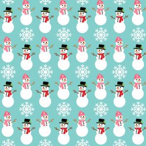 Christmas #19 Patterned Vinyl