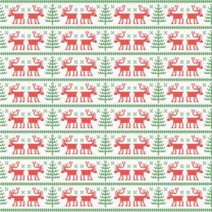 Christmas #20 Patterned Vinyl