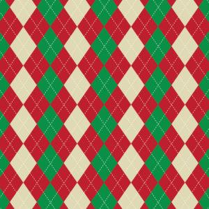 Christmas #6 Patterned Vinyl