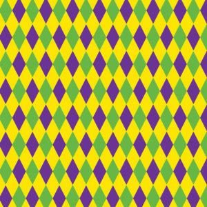 Mardi Gras #1 Patterned Vinyl