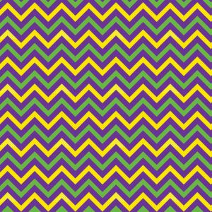 Mardi Gras #14 Patterned Vinyl