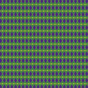 Mardi Gras #17 Patterned Vinyl