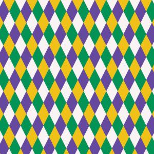 Mardi Gras #2 Patterned Vinyl