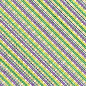 Mardi Gras #25 Patterned Vinyl