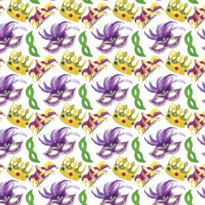 Mardi Gras #26 Patterned Vinyl