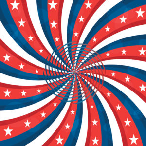 Patriotic #8 Patterned Vinyl