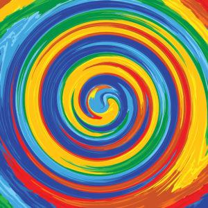Rainbow #3 Patterned Vinyl