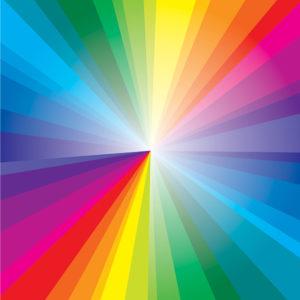 Rainbow #4 Patterned Vinyl