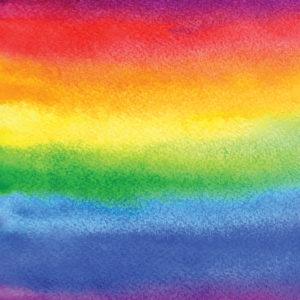 Rainbow #5 Patterned Vinyl