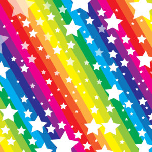 Rainbow #6 Patterned Vinyl