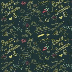School #10 Patterned Vinyl