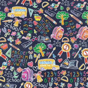 School #12 Patterned Vinyl