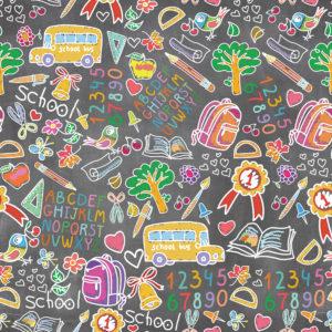 School #16 Patterned Vinyl
