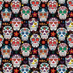 Skulls #1 Patterned Vinyl