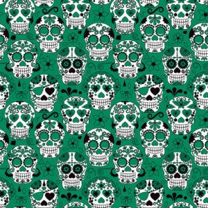 Skulls #10 Patterned Vinyl