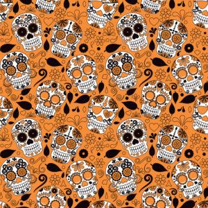 Skulls #2 Patterned Vinyl