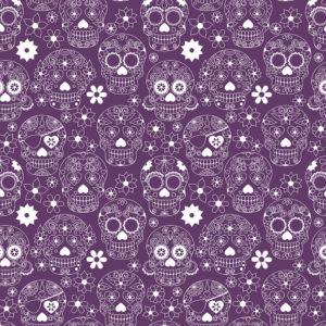 Skulls #3 Patterned Vinyl