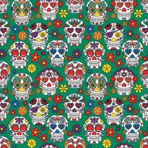 Skulls #5 Patterned Vinyl
