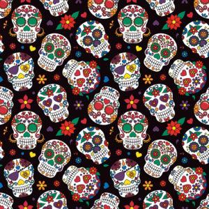 Skulls #6 Patterned Vinyl