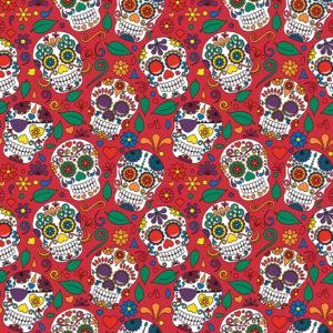 Skulls #7 Patterned Vinyl