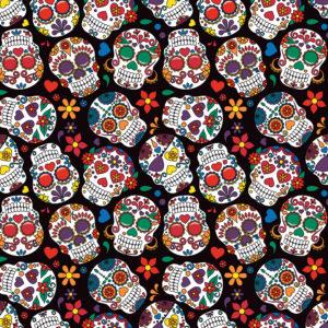 Skulls #8 Patterned Vinyl