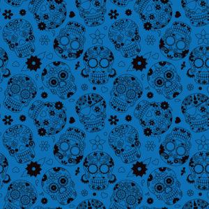 Skulls #9 Patterned Vinyl