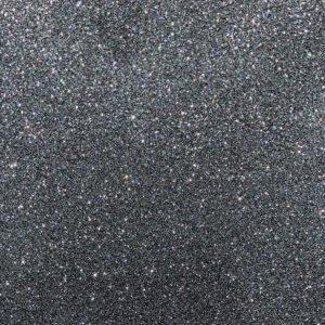 "Black - 12""x24"" - Sheet - StyleTech Ultra Metallic Glitter Adhesive Vinyl"