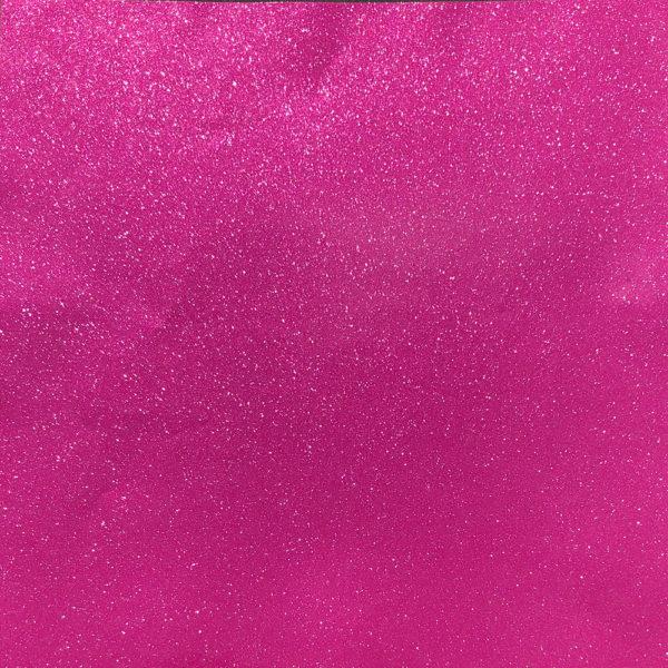 "Melon (Raspberry) - 12""x24"" - Sheet - StyleTech Ultra Metallic Glitter Adhesive Vinyl"