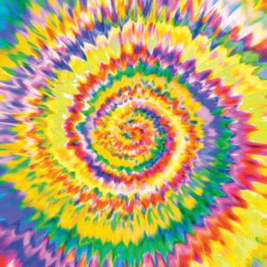 Tie Dye #5 Patterned Vinyl