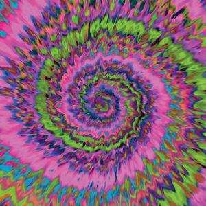 Tie Dye #8 Patterned Vinyl