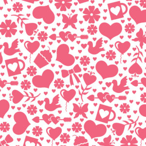 Valentines #2 Patterned Vinyl