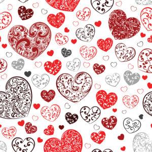 Valentines #5 Patterned Vinyl